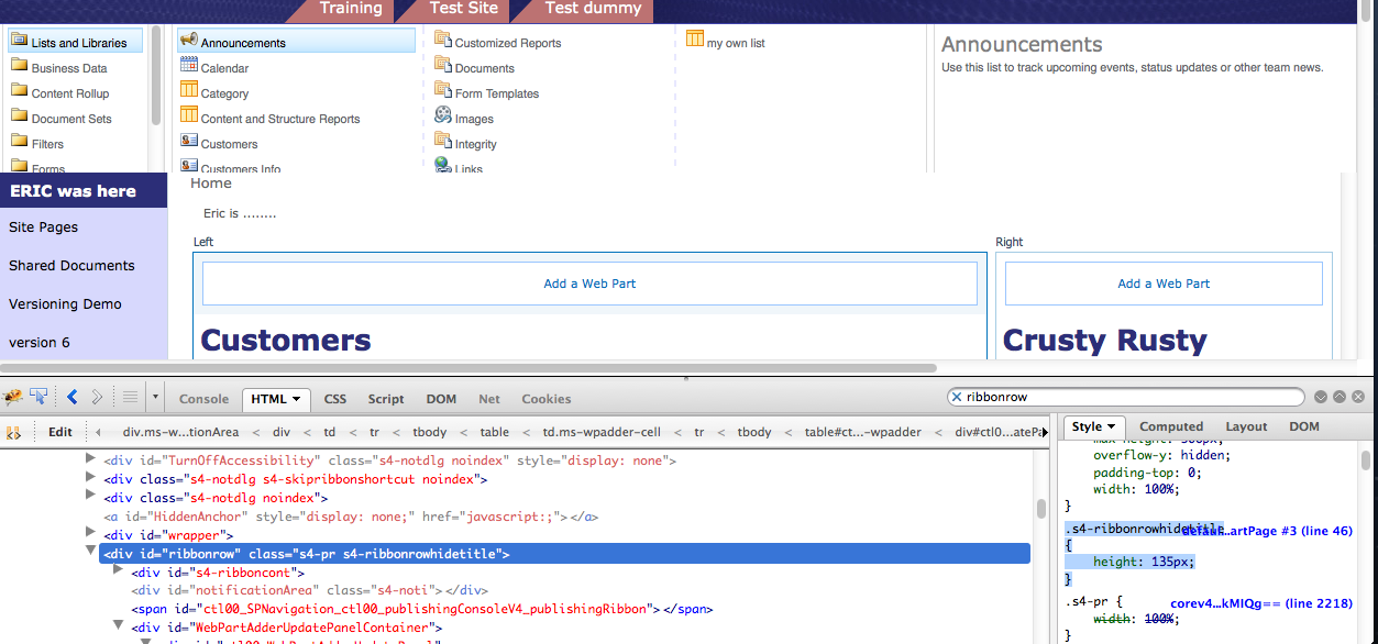 Add WebPart Cut Off SharePoint 2010 Custom Master Page | April