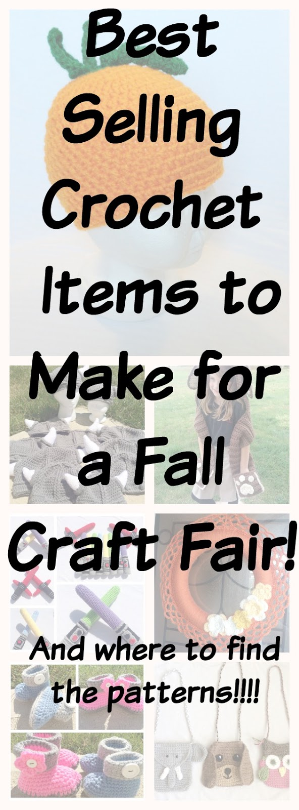 Best Selling Crochet Items For A Fall Craft Fair