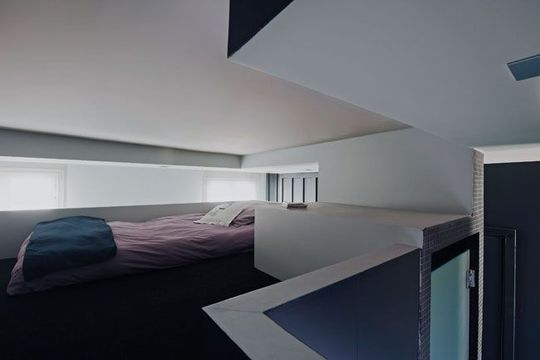 pequeno apartamento de 27m2 na vitrine. Black Bedroom Furniture Sets. Home Design Ideas