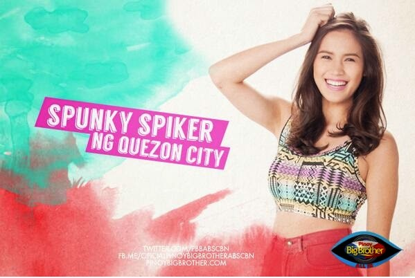 "Pinoy Big Brother All In Housemates photos - Michelle Gumabao ""Spunky Spiker"""