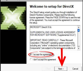 DirectX 9.0C (Jun 10) Screenshot 1