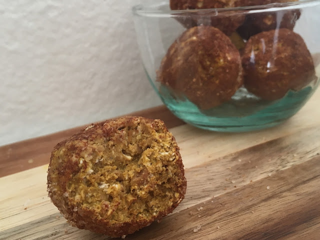 FullSizeRender - All Natural Protein Pumpkin Bites