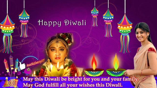 Happy Diwali Anushka Shetty!