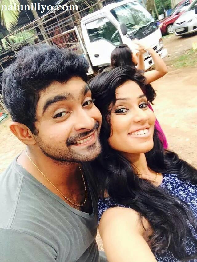 Rithu Akarsha new hot photos with Kavinga Perera