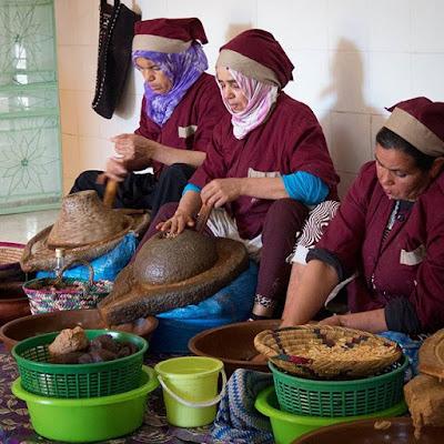 El proceso del aceite de Argán en Essaouira