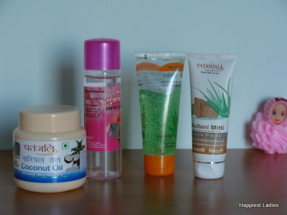 Patanjali products for glowing skin in summer