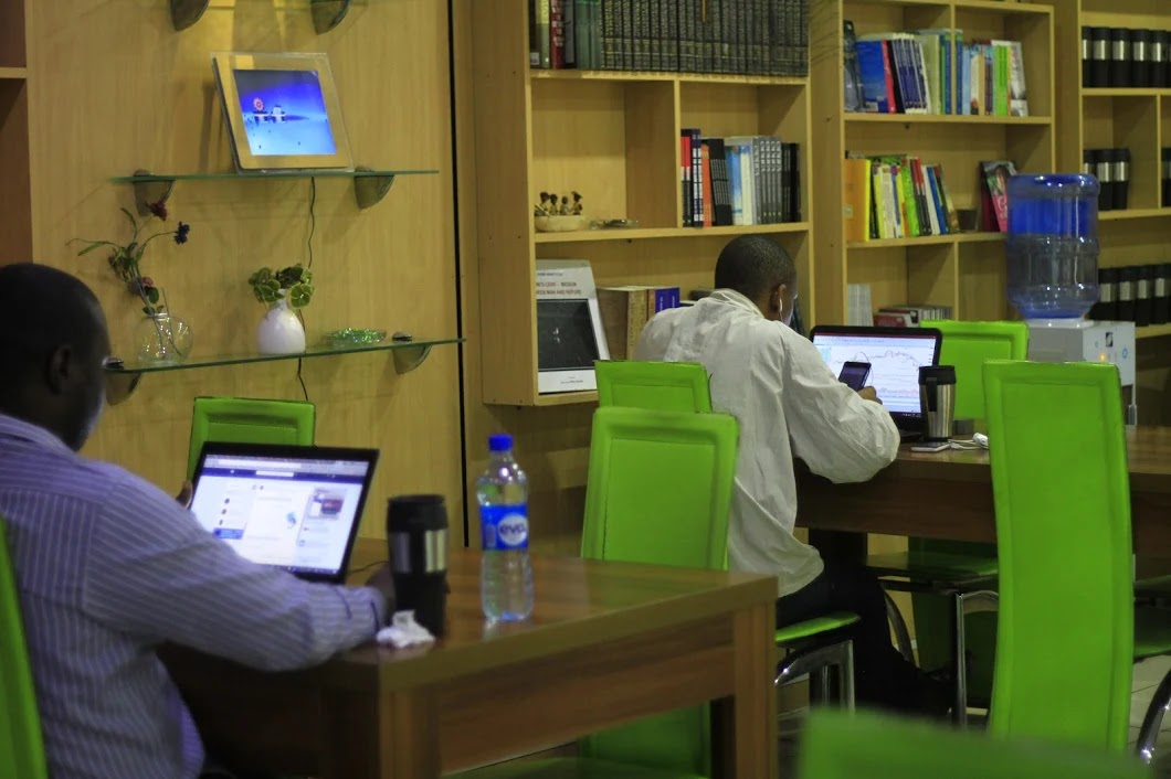 LitCaf coworking space in Lagos
