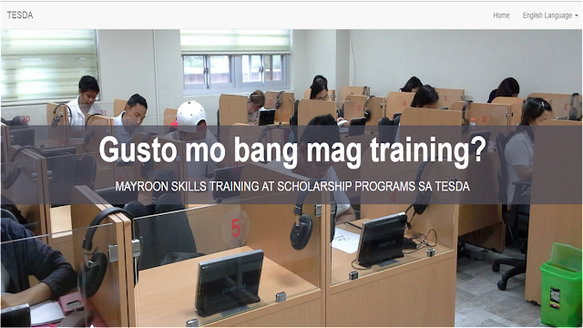 "TESDA has recently launched online application for scholarship under the Technical Vocational Education And Training (TVET).  ""Applying for a TESDA scholarship online is now a 5-10 minute procedure. We have tried our best to make it as convenient and hassle-free. There is now no reason why anyone cannot avail of free tech-voc training and enjoy the opportunities that it will bring,"" said TESDA Director General Secretary Guiling ""Gene"" Mamondiong."