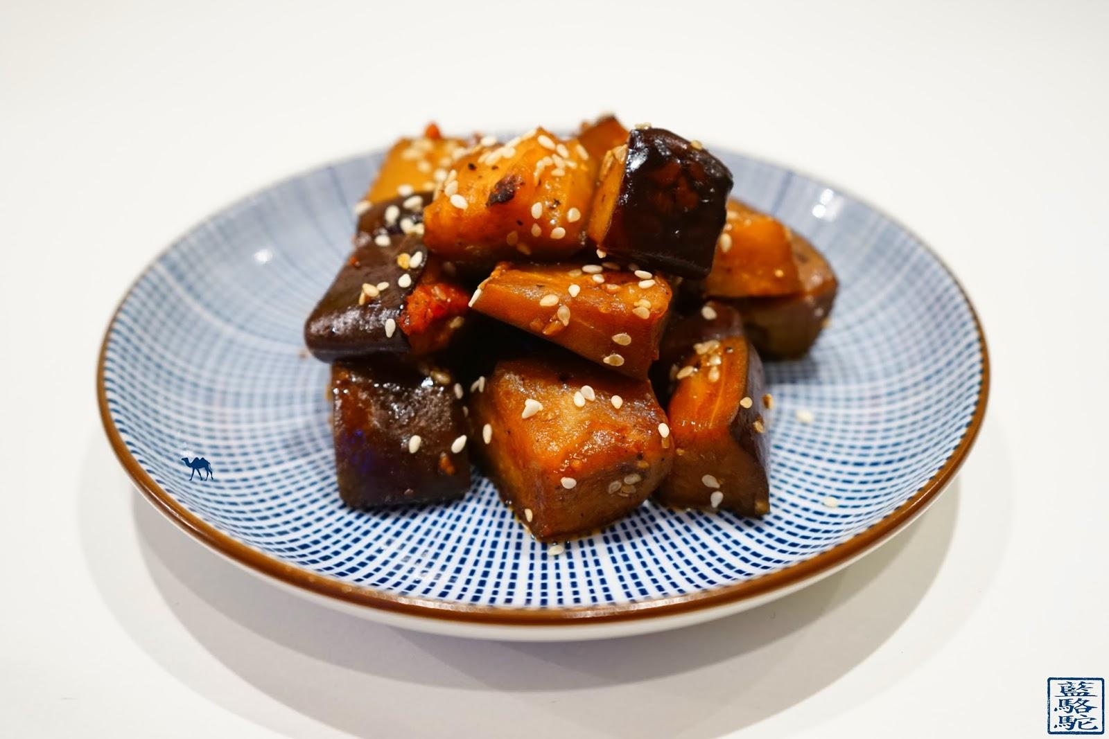 Le Chameau Bleu - Recette - Sauté d'aubergines à la japonaise