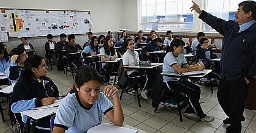 Destinan más de 31,328 millones de soles para el sector Educación durante el 2020
