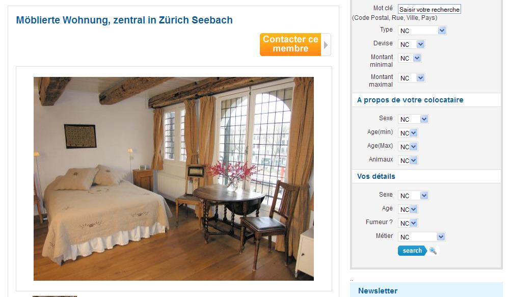wohnungsbetrugblogspotcom Mblierte Wohnung zentral in Zrich Seebach Schaffhauserstrasse