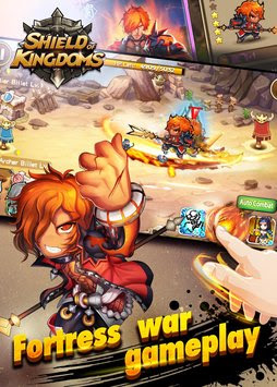 Shield of Kingdoms Apk v0.2.1.331 Mod (No Skill CD & More)