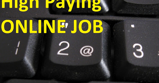 best paying online job