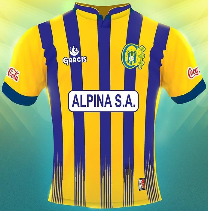b8c999f57e Garcis divulga as novas camisas do Deportivo Capiatá - Show de Camisas