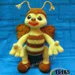 patron gratis abeja amigurumi, free amiguru pattern bee