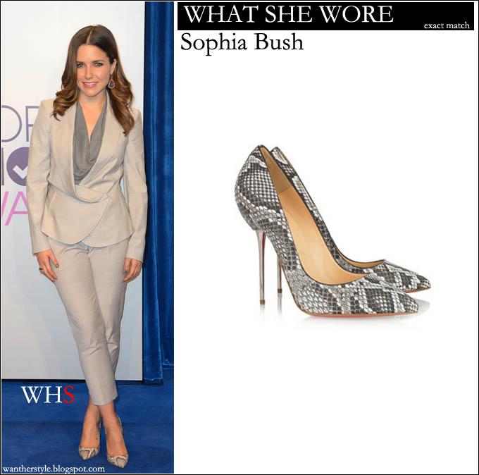 e0ad7c9e27ba WHAT SHE WORE  light Vivienne Westwood suit and snake (python) leather Christian  Louboutin pumps. BUY  Christian Louboutin Lipsinka 120 pin-heeled ...