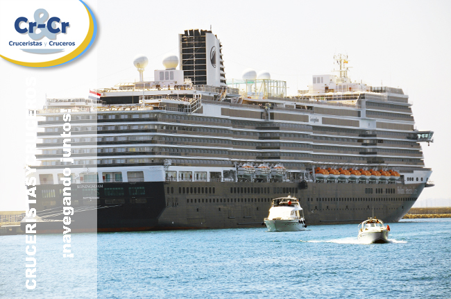 ► El Koningsdam visita Alicante