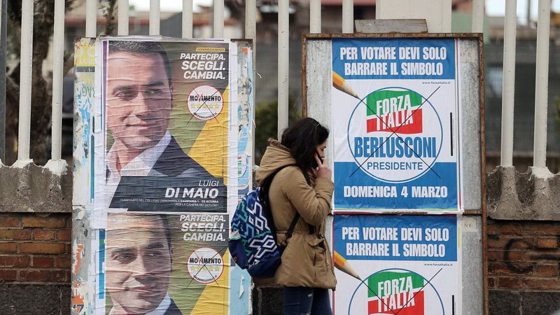 Βουλευτικές εκλογές στην Ιταλία