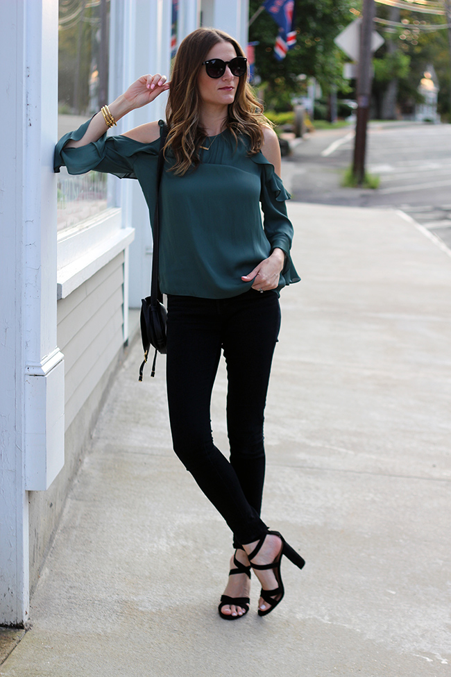 cold shoulder outfit