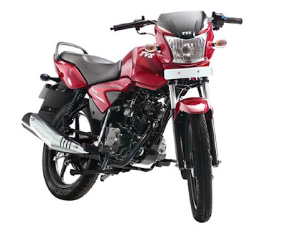 TVS Star City Plus 110cc motorcycle