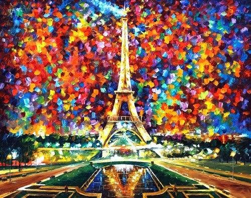 Torre Eiffel Dibujo Animado A Color: Imagenes De Paris Para Imprimir Gratis
