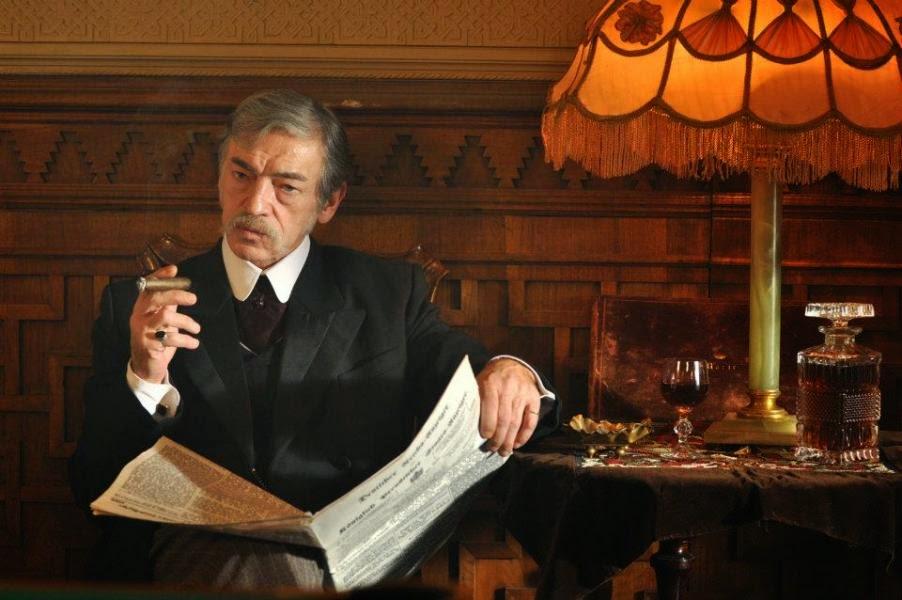 Russian Lestrade Mikhail Boyarsky new Russian Sherlock Holmes 2013 TV Series