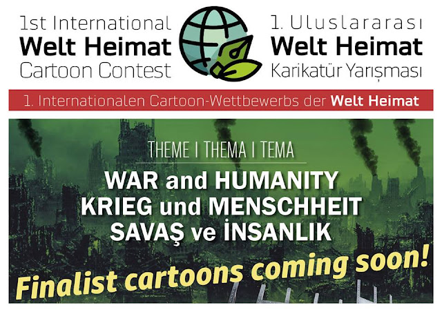 Coming Soon: Finalist Cartoons of The 1st International Welt Heimat Cartoon Contest