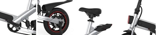 Detalles y caracteristicas de la bicicleta Guangya Y1