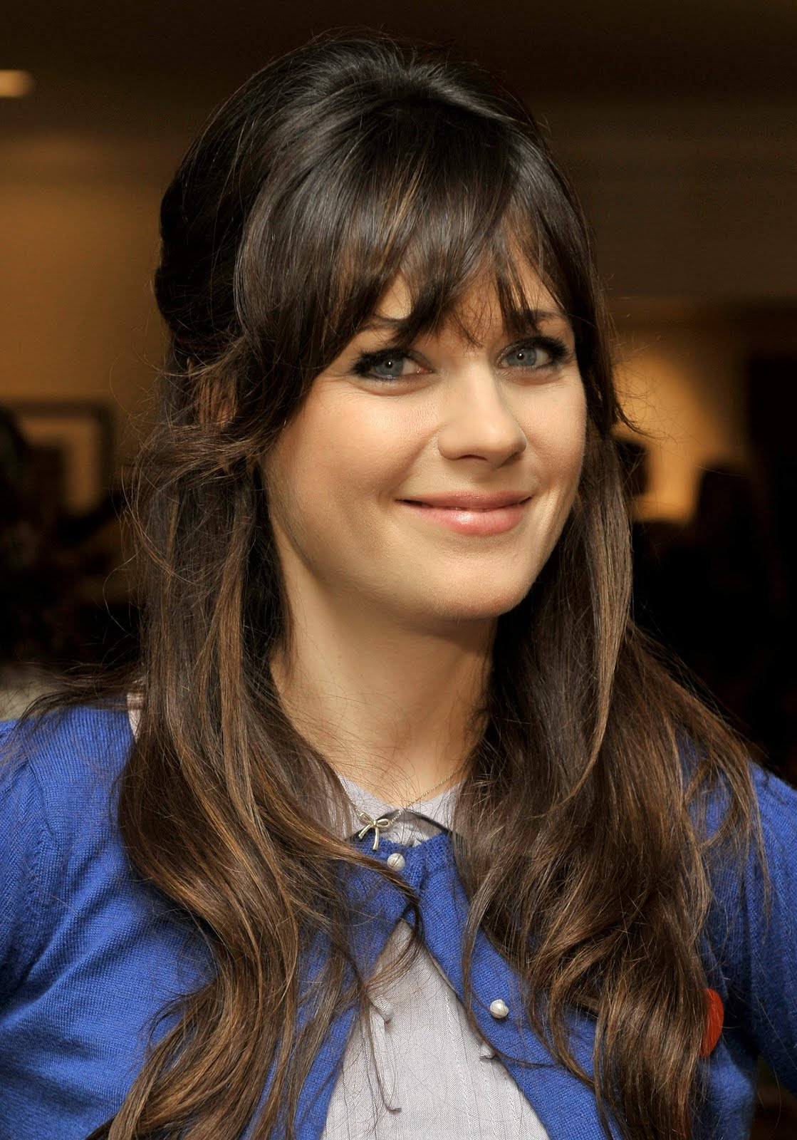 Fashion As: zooey deschanel hair