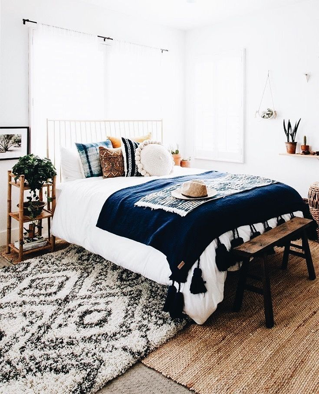 10 Beautiful Bohemian Bedrooms