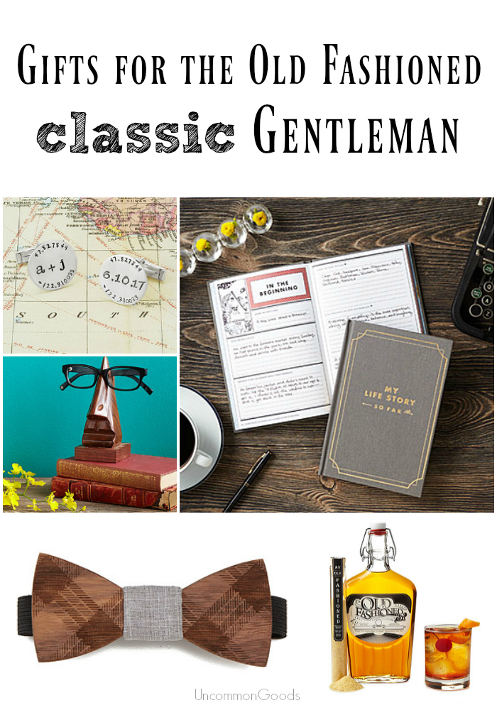 Gifts for the Old Fashioned Classic Gentleman - UncommonGoods - #myuncommongoods