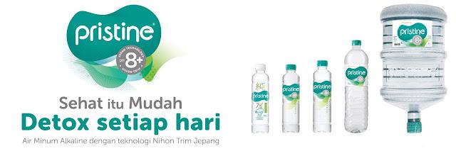 Manfaat dari Mengkonsumsi Air Alkali Pristine 8+