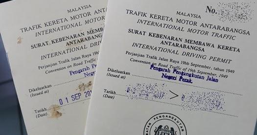 International driving license malaysia utc
