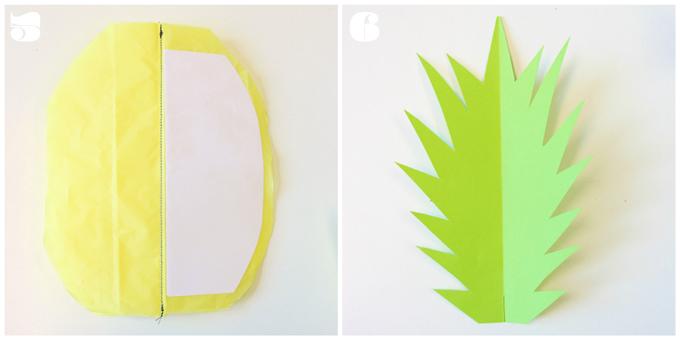 DIY | Ananas Wabenball Anleitung