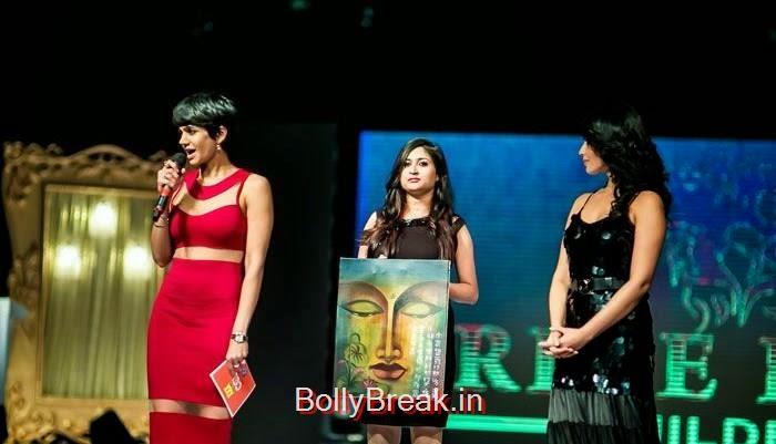 Hundred Hearts Glamorous Charity Dinner, Mandira Bedi, Adah Sharma Hot Pics At Hundred Hearts Glamorous Charity Dinner