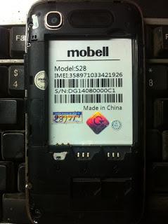 الفلاشه النادره لهاتف  MOBELL S28 MT6572