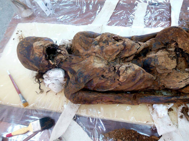 'Cursed' mummies from El-Mezawaa necropolis restored