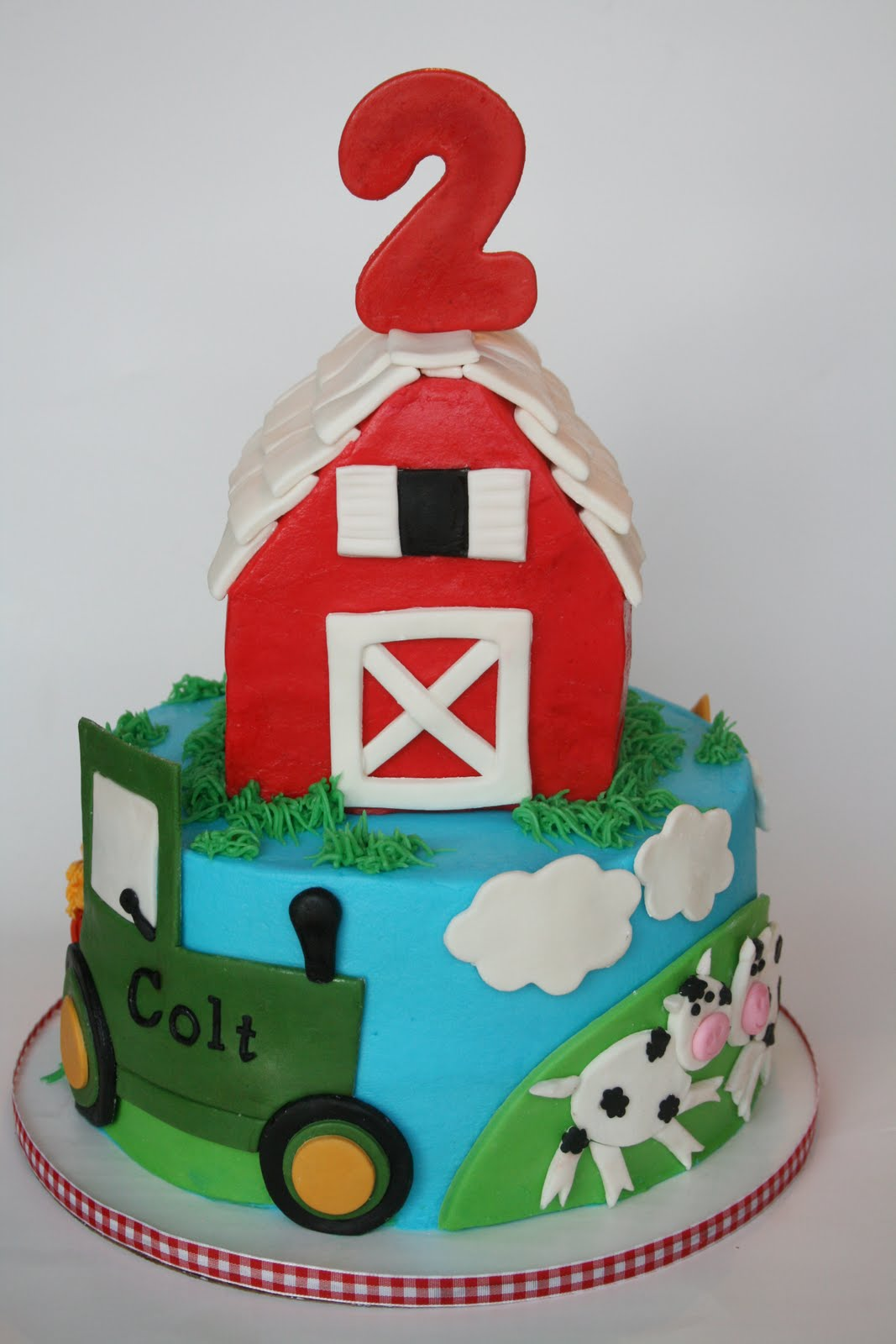 And Everything Sweet Farm Cake
