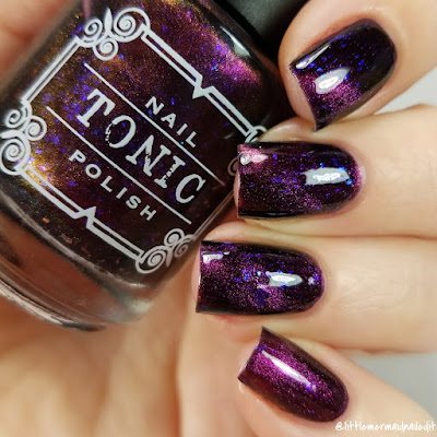 Tonic Polish Zeppo Multichrome Madness Exclusives Swatches and Review