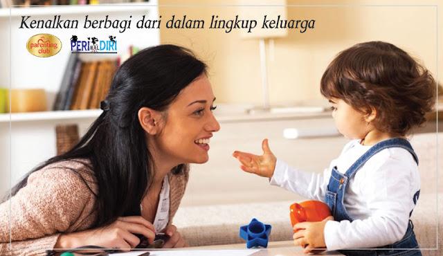 Mengajarkan Si Kecil Berbagi Dalam Keluarga