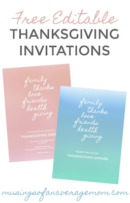 colorful thanksgiving printables