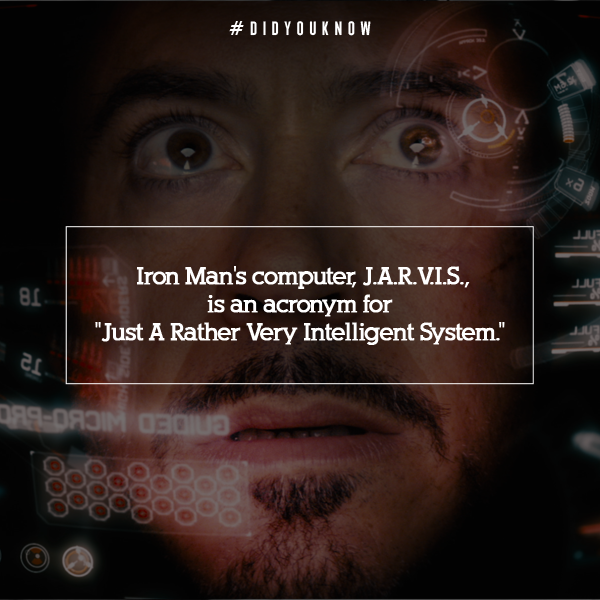 Lapercygo : Meaning of JARVIS in Iron Man