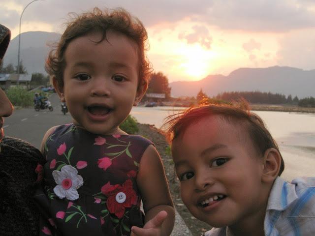 Berburu Sunset Dari Kuala Cangkoi, Banda Aceh