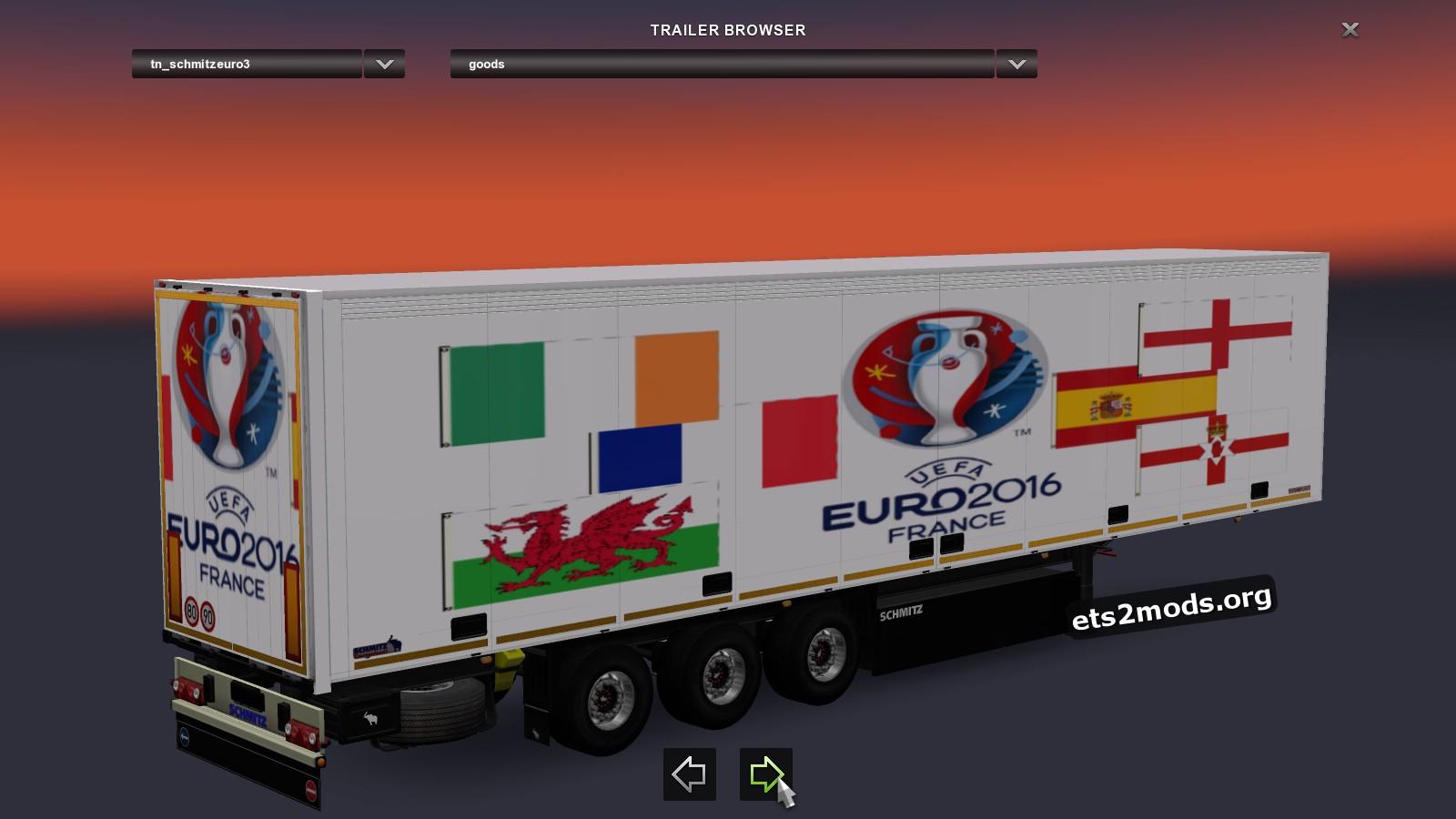 Schmitz Trailers Pack Euro