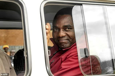 Zambia opposition leader moved to maximum security jail