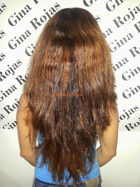 cabello con volumen