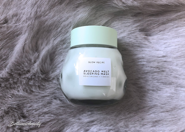 Glow Recipe Avocado Sleeping Mask | bellanoirbeauty.com