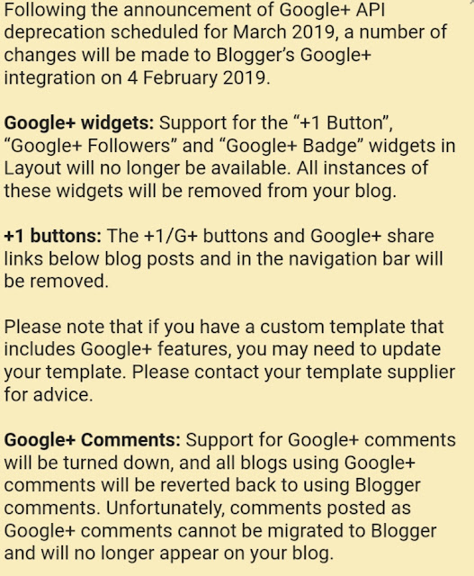 Google plus blog issue image
