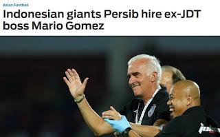 Gaji pelatih Persib Bandung Mario Gomez Diperkirakan Mencapai Rp533 Juta Per Bulan
