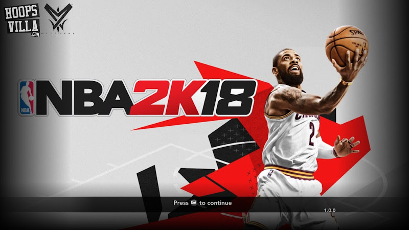 NBA 2k18 Kyrie Irving Title Screen Mod for NBA 2k14